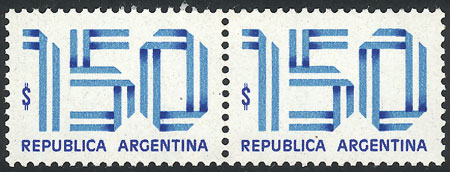 Lot 838 - Argentina general issues -  Guillermo Jalil - Philatino Auction # 2043 ARGENTINA: small but very attractive auction