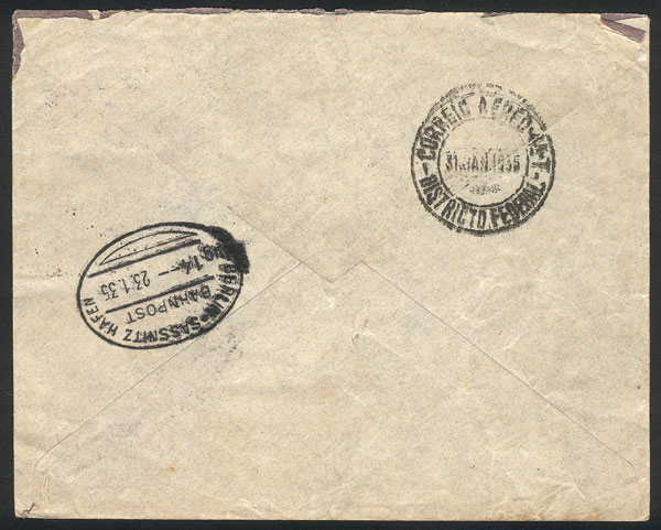 Lot 944 - Sweden postal history -  Guillermo Jalil - Philatino Auction # 2044 WORLDWIDE + ARGENTINA: General October auction