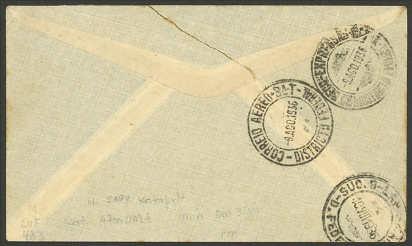 Lot 99 - germany postal history -  Guillermo Jalil - Philatino Auction # 2044 WORLDWIDE + ARGENTINA: General October auction