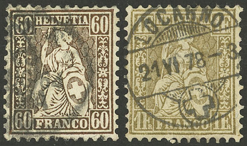 Lot 949 - Switzerland general issues -  Guillermo Jalil - Philatino Auction # 2044 WORLDWIDE + ARGENTINA: General October auction