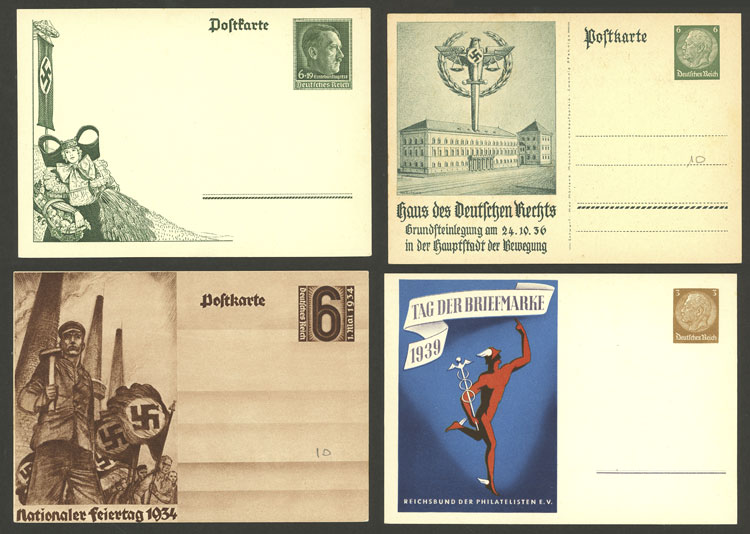 Lot 63 - germany Postal stationery -  Guillermo Jalil - Philatino Auction # 2044 WORLDWIDE + ARGENTINA: General October auction