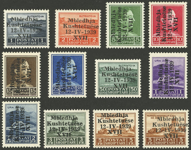 Lot 23 - Albania general issues -  Guillermo Jalil - Philatino Auction # 2044 WORLDWIDE + ARGENTINA: General October auction