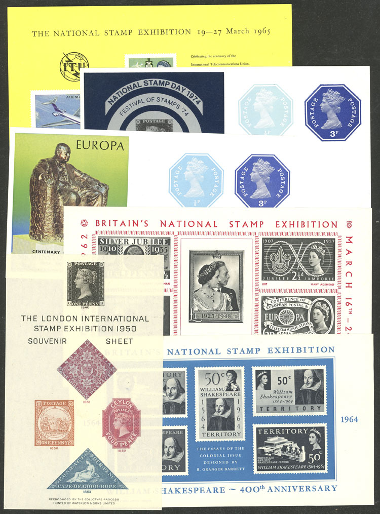 Lot 672 - Great Britain cinderellas -  Guillermo Jalil - Philatino Auction # 2044 WORLDWIDE + ARGENTINA: General October auction