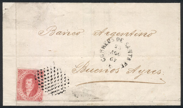 Lot 228 - Argentina rivadavias -  Guillermo Jalil - Philatino Auction # 2044 WORLDWIDE + ARGENTINA: General October auction