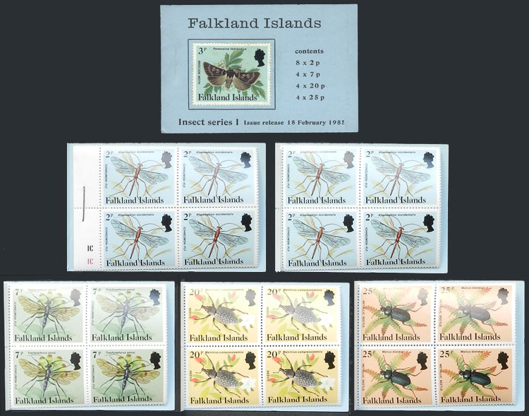 Lot 804 - falkland islands/malvinas general issues -  Guillermo Jalil - Philatino Auction # 2044 WORLDWIDE + ARGENTINA: General October auction