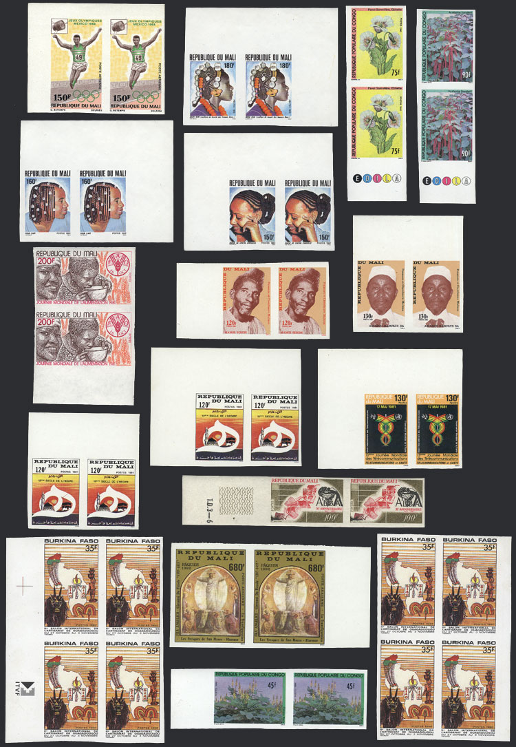 Lot 19 - africa Lots and Collections -  Guillermo Jalil - Philatino Auction # 2044 WORLDWIDE + ARGENTINA: General October auction