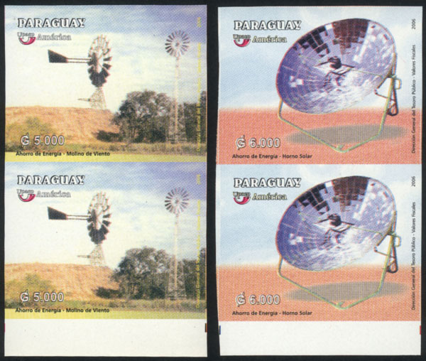 Lot 839 - Paraguay general issues -  Guillermo Jalil - Philatino Auction # 2044 WORLDWIDE + ARGENTINA: General October auction