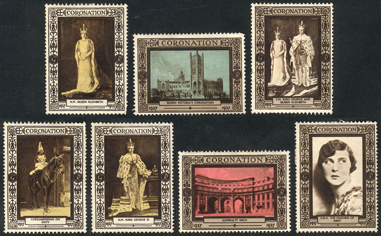 Lot 671 - Great Britain cinderellas -  Guillermo Jalil - Philatino Auction # 2044 WORLDWIDE + ARGENTINA: General October auction