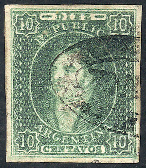 Lot 224 - Argentina rivadavias -  Guillermo Jalil - Philatino Auction # 2044 WORLDWIDE + ARGENTINA: General October auction