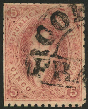 Lot 20 - Argentina rivadavias -  Guillermo Jalil - Philatino Auction # 2045 ARGENTINA: Special November auction