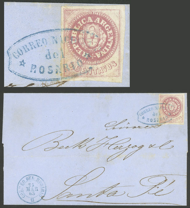 Lot 7 - Argentina escuditos -  Guillermo Jalil - Philatino Auction # 2045 ARGENTINA: Special November auction