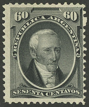 Lot 101 - Argentina general issues -  Guillermo Jalil - Philatino Auction # 2045 ARGENTINA: Special November auction