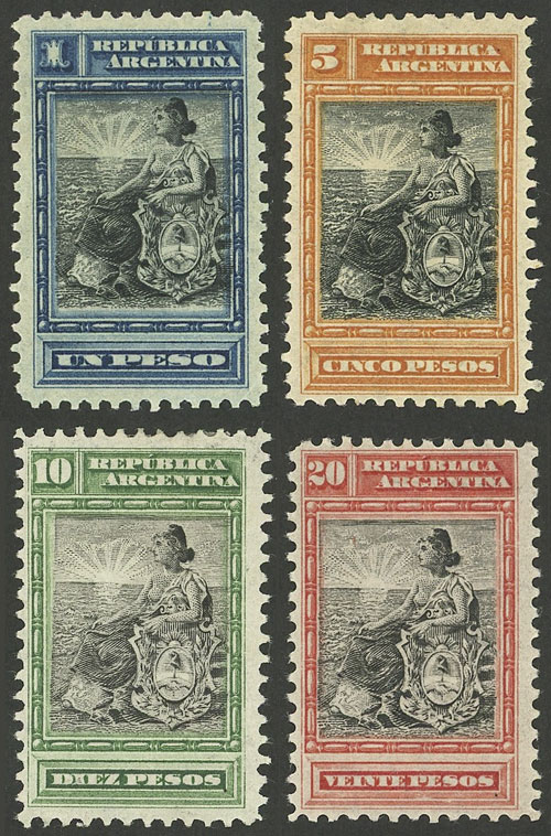 Lot 128 - Argentina general issues -  Guillermo Jalil - Philatino Auction # 2045 ARGENTINA: Special November auction