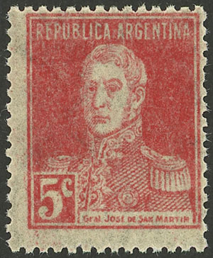 Lot 168 - Argentina general issues -  Guillermo Jalil - Philatino Auction # 2045 ARGENTINA: Special November auction