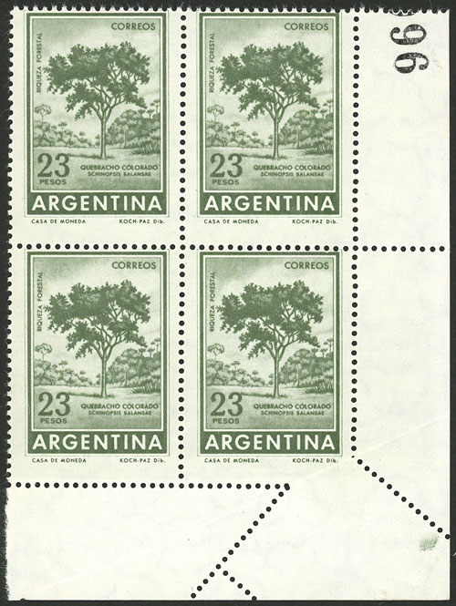 Lot 184 - Argentina general issues -  Guillermo Jalil - Philatino Auction # 2045 ARGENTINA: Special November auction