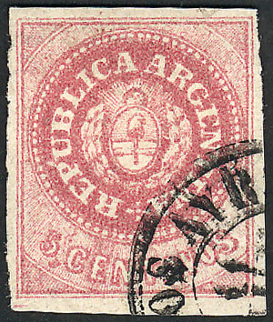 Lot 13 - Argentina escuditos -  Guillermo Jalil - Philatino Auction # 2045 ARGENTINA: Special November auction