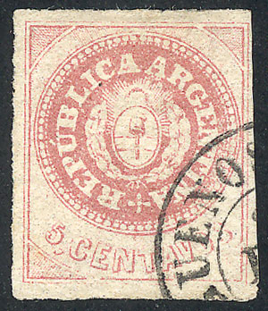 Lot 6 - Argentina escuditos -  Guillermo Jalil - Philatino Auction # 2045 ARGENTINA: Special November auction