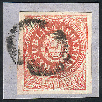 Lot 17 - Argentina escuditos -  Guillermo Jalil - Philatino Auction # 2045 ARGENTINA: Special November auction