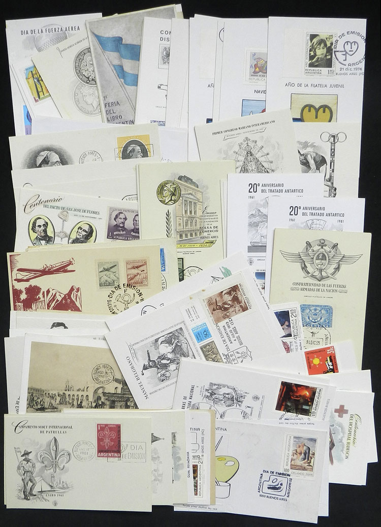 Lot 927 - Argentina Lots and Collections -  Guillermo Jalil - Philatino Auction # 2048 WORLDWIDE + ARGENTINA: General November auction