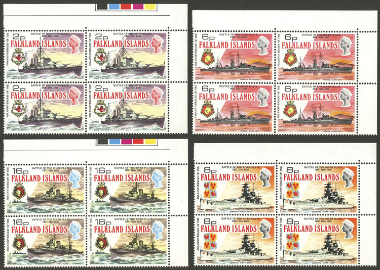 Lot 1854 - falkland islands/malvinas general issues -  Guillermo Jalil - Philatino Auction # 2048 WORLDWIDE + ARGENTINA: General November auction