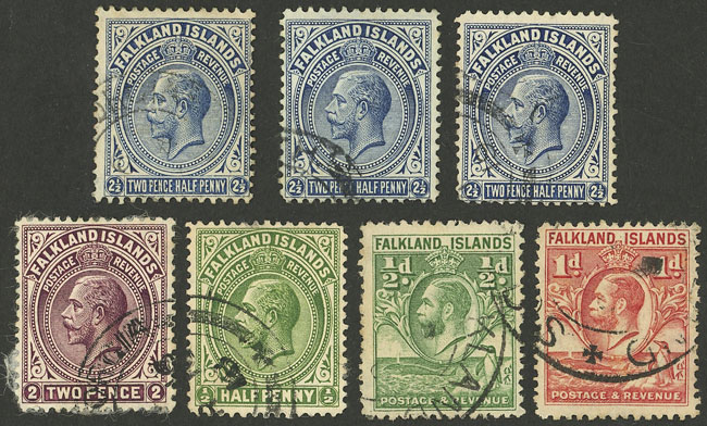 Lot 1862 - falkland islands/malvinas Lots and Collections -  Guillermo Jalil - Philatino Auction # 2048 WORLDWIDE + ARGENTINA: General November auction