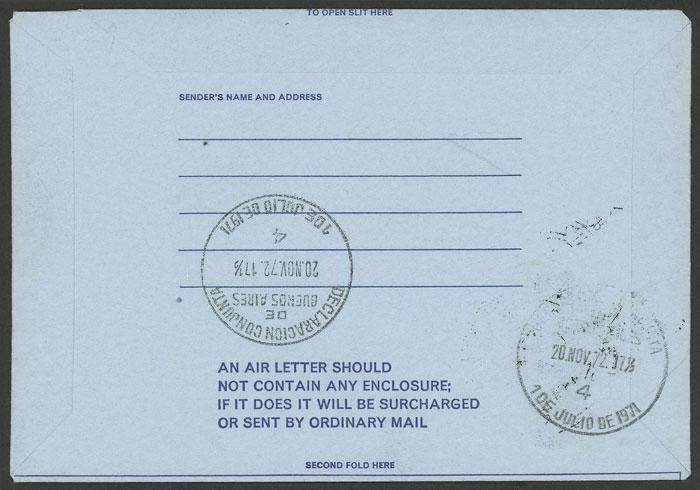 Lot 1856 - falkland islands/malvinas postal history -  Guillermo Jalil - Philatino Auction # 2048 WORLDWIDE + ARGENTINA: General November auction