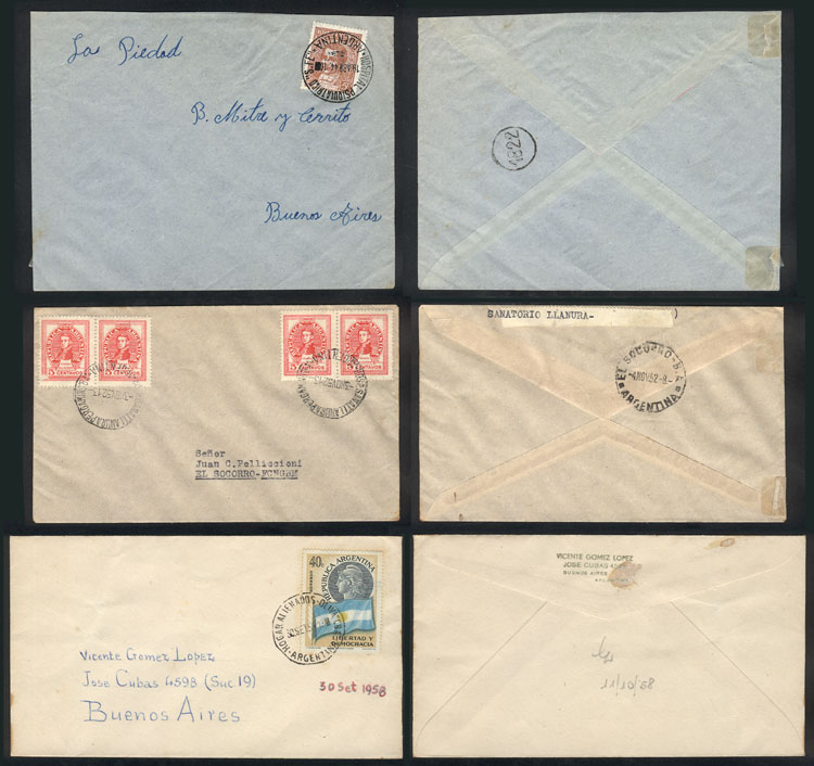 Lot 21 - TOPIC MEDICINE postal history -  Guillermo Jalil - Philatino Auction # 2048 WORLDWIDE + ARGENTINA: General November auction