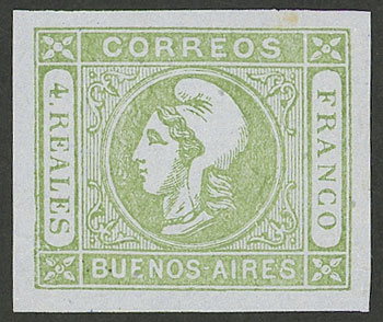Lot 6 - Argentina buenos aires -  Guillermo Jalil - Philatino Auction # 2049 ARGENTINA: