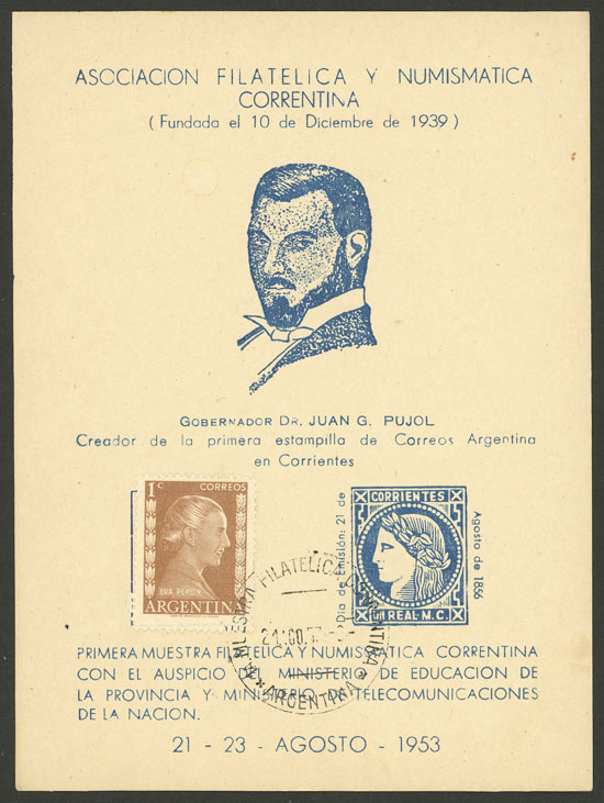 Lot 946 - Argentina postal history -  Guillermo Jalil - Philatino Auction # 2049 ARGENTINA: