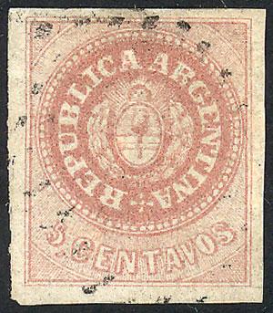 Lot 17 - Argentina escuditos -  Guillermo Jalil - Philatino Auction # 2049 ARGENTINA: