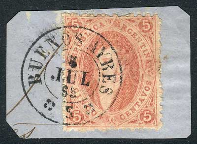 Lot 37 - Argentina rivadavias -  Guillermo Jalil - Philatino Auction # 2050 ARGENTINA: Special December auction
