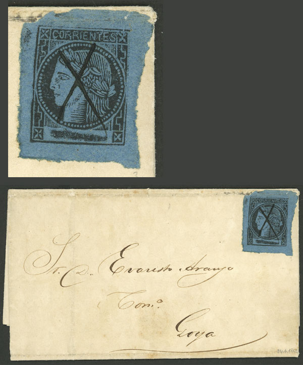 Lot 16 - Argentina corrientes -  Guillermo Jalil - Philatino Auction # 2050 ARGENTINA: Special December auction