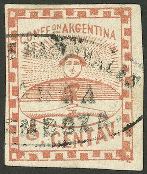 Lot 28 - Argentina confederation -  Guillermo Jalil - Philatino Auction # 2050 ARGENTINA: Special December auction