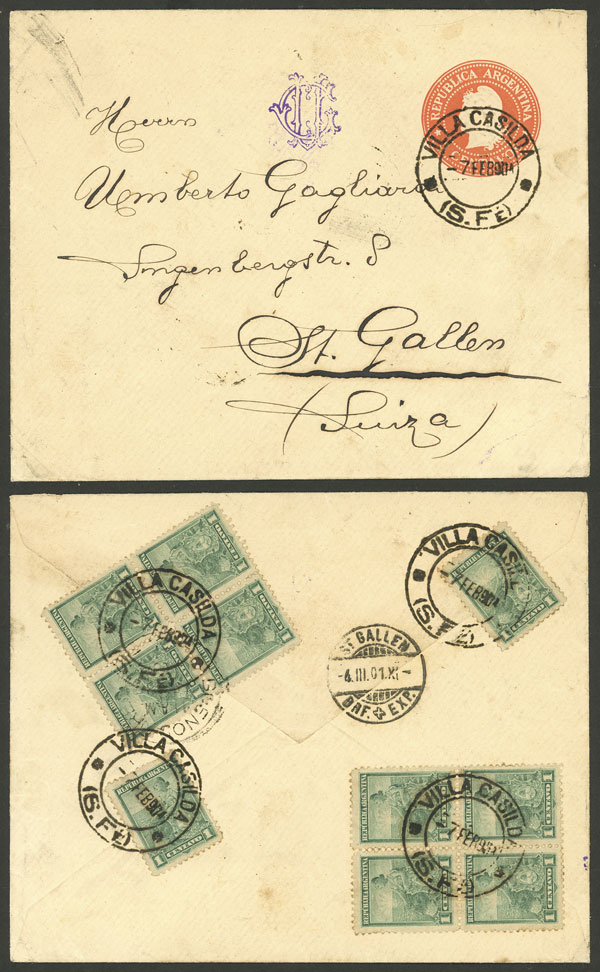 Lot 79 - Argentina general issues -  Guillermo Jalil - Philatino Auction # 2050 ARGENTINA: Special December auction