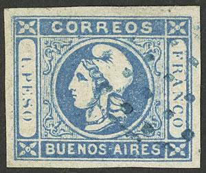 Lot 6 - Argentina cabecitas -  Guillermo Jalil - Philatino Auction # 2050 ARGENTINA: Special December auction