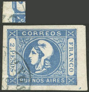 Lot 11 - Argentina cabecitas -  Guillermo Jalil - Philatino Auction # 2050 ARGENTINA: Special December auction