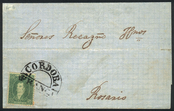 Lot 20 - Argentina rivadavias -  Guillermo Jalil - Philatino Auction # 2102 ARGENTINA: Special January auction