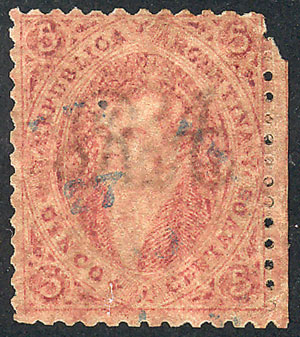 Lot 19 - Argentina rivadavias -  Guillermo Jalil - Philatino Auction # 2102 ARGENTINA: Special January auction