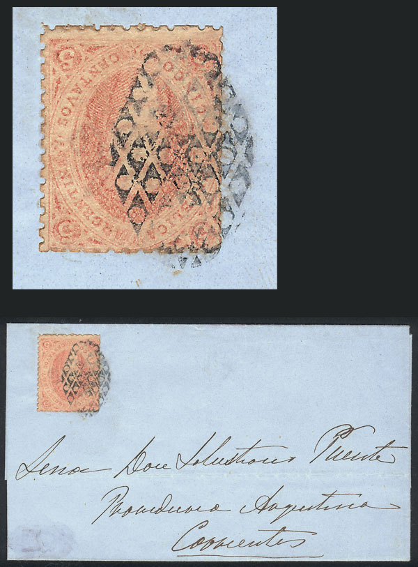 Lot 17 - Argentina rivadavias -  Guillermo Jalil - Philatino Auction # 2102 ARGENTINA: Special January auction