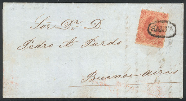 Lot 18 - Argentina rivadavias -  Guillermo Jalil - Philatino Auction # 2102 ARGENTINA: Special January auction