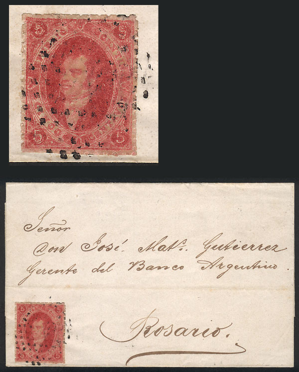 Lot 25 - Argentina rivadavias -  Guillermo Jalil - Philatino Auction # 2102 ARGENTINA: Special January auction