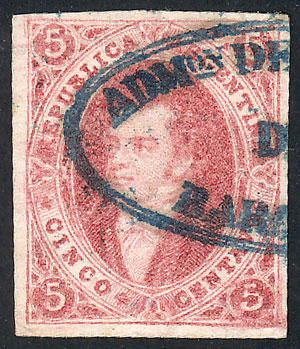Lot 27 - Argentina rivadavias -  Guillermo Jalil - Philatino Auction # 2102 ARGENTINA: Special January auction