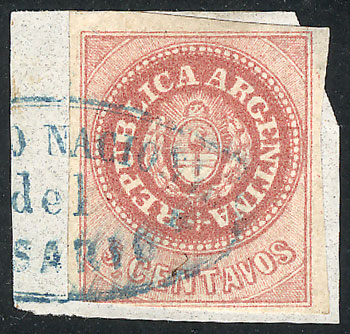 Lot 8 - Argentina escuditos -  Guillermo Jalil - Philatino Auction # 2102 ARGENTINA: Special January auction