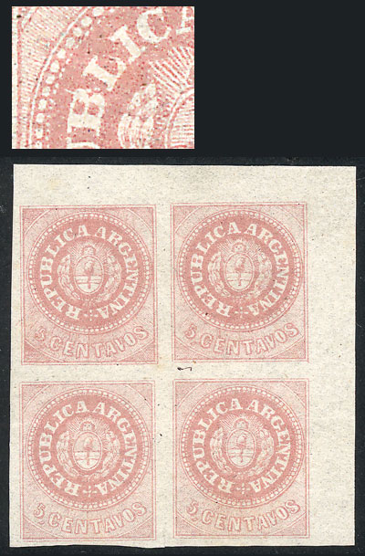 Lot 9 - Argentina escuditos -  Guillermo Jalil - Philatino Auction # 2102 ARGENTINA: Special January auction