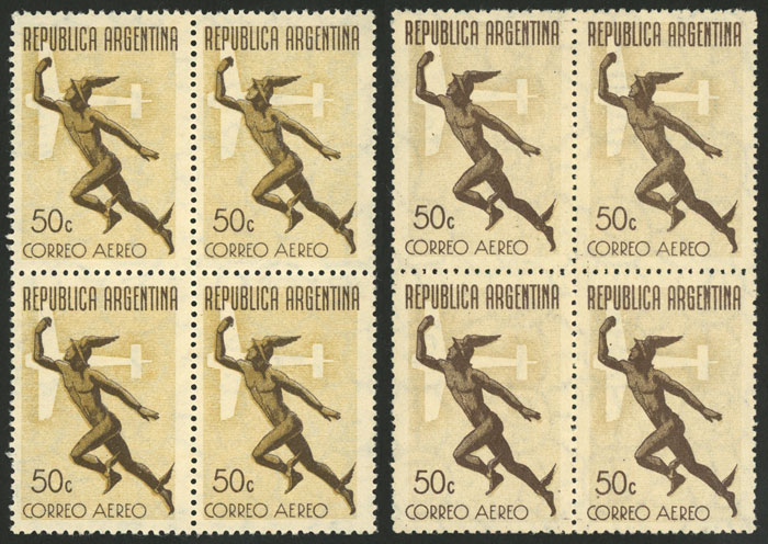 Lot 1422 - Argentina airmail -  Guillermo Jalil - Philatino Auction # 2103 ARGENTINA: