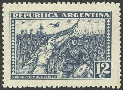 Lot 487 - Argentina general issues -  Guillermo Jalil - Philatino Auction # 2103 ARGENTINA: