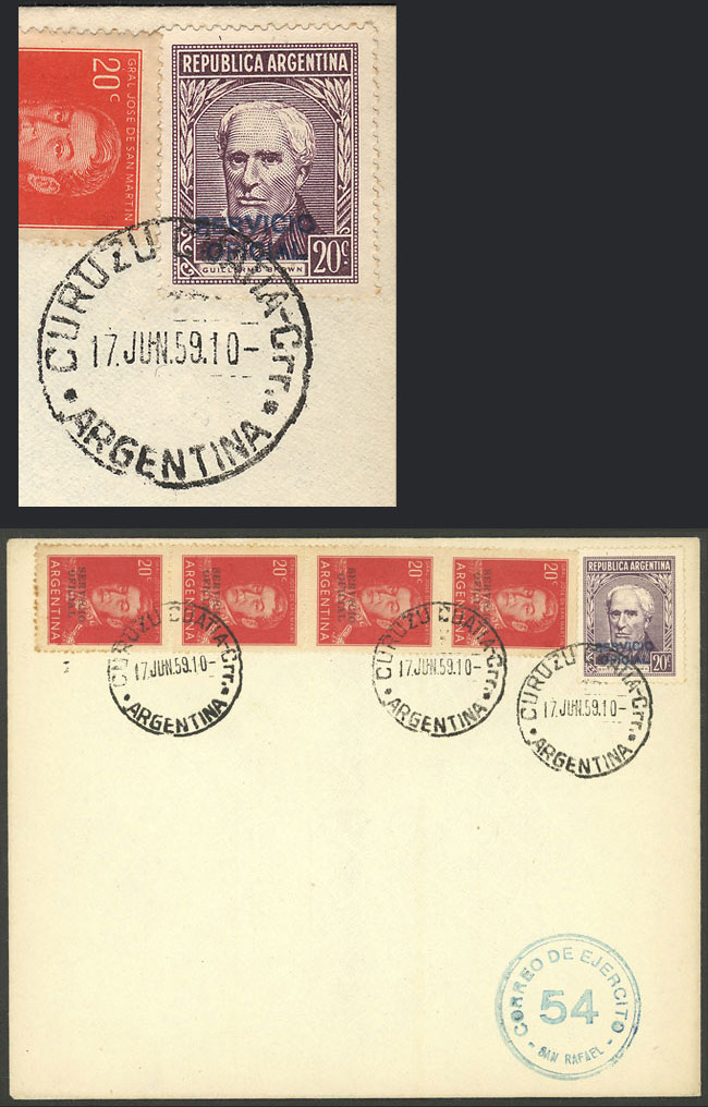 Lot 1802 - Argentina official stamps -  Guillermo Jalil - Philatino Auction # 2103 ARGENTINA: