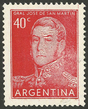 Lot 836 - Argentina general issues -  Guillermo Jalil - Philatino Auction # 2103 ARGENTINA: