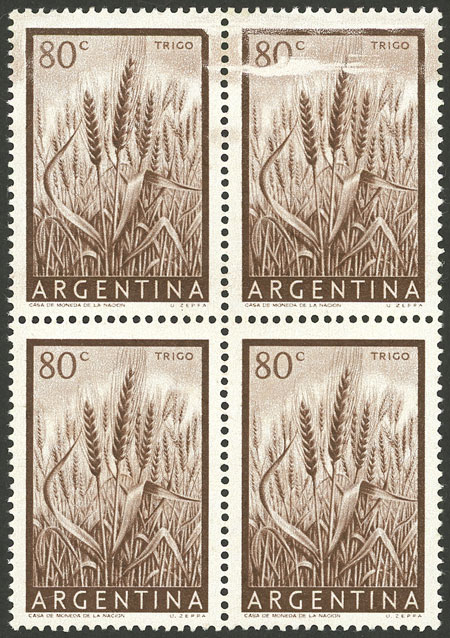Lot 846 - Argentina general issues -  Guillermo Jalil - Philatino Auction # 2103 ARGENTINA: