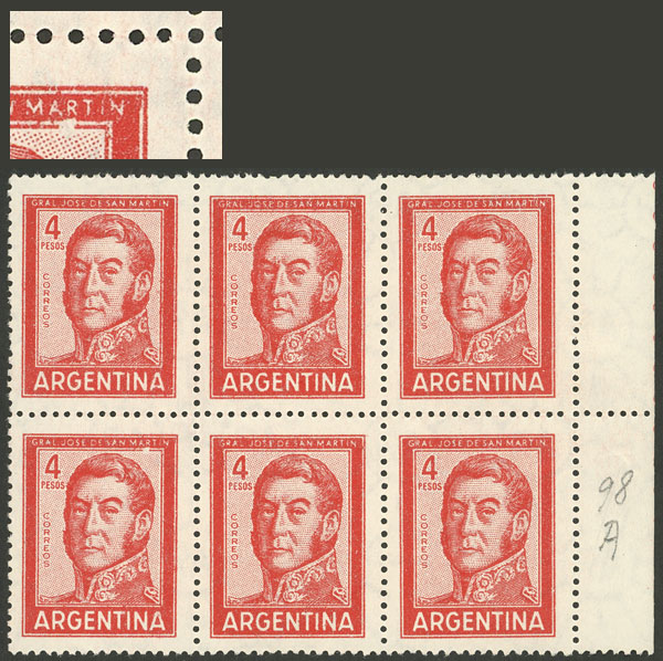Lot 927 - Argentina general issues -  Guillermo Jalil - Philatino Auction # 2103 ARGENTINA: